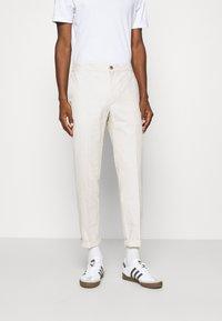 Banana Republic - WAIST PANT - Trousers - stone - 0