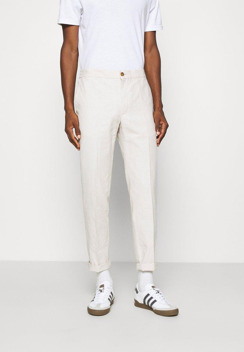 Banana Republic - WAIST PANT - Trousers - stone