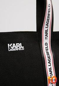 KARL LAGERFELD - Saszetka nerka - black - 6