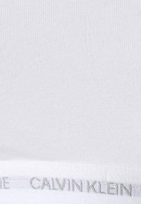 Calvin Klein Underwear - UNLINED BRALETTE 2 PACK - Bustier - white/black - 5
