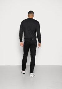 G-Star - 3301 SLIM FIT - Slim fit jeans - elto nero black superstretch/pitch black - 2