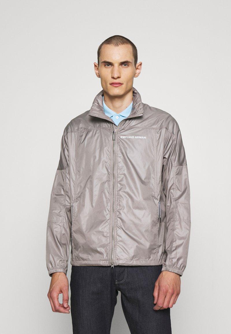 Emporio Armani - BLOUSON JACKET - Summer jacket - beige