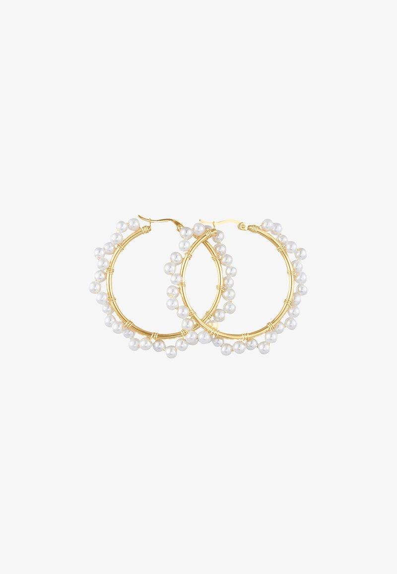 Heideman - OHRSCHMUCK GLOBOSUS - Earrings - goldfarbend