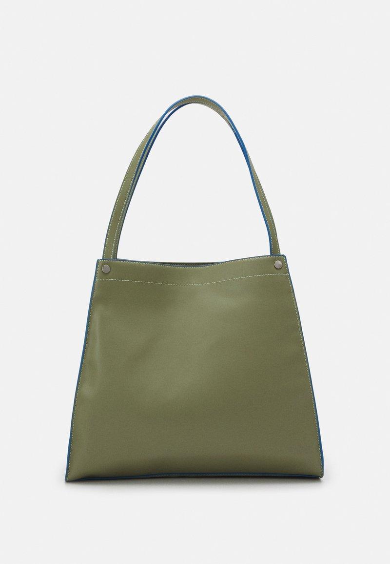 HVISK - BOAT SOFT - Shopper - moss green