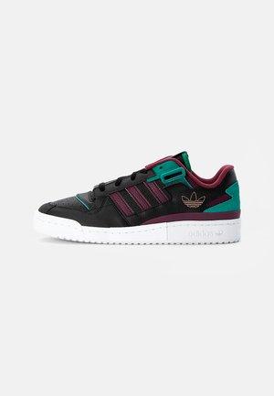 FORUM EXHIBIT LOW UNISEX - Sneaker low - black