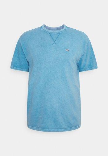 CLASSIC WASHED TEE - Jednoduché triko - frigid blue