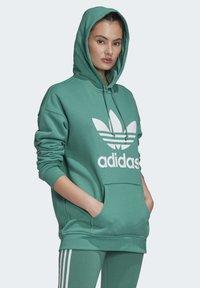 adidas Originals - Luvtröja - turquoise/white - 3
