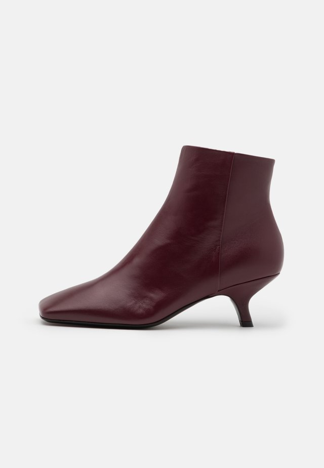 HOLLY - Bottines - bordeaux