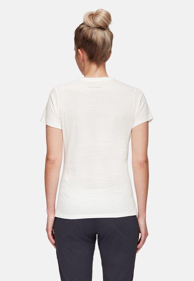 NATIONS - T-shirt z nadrukiem - bright white