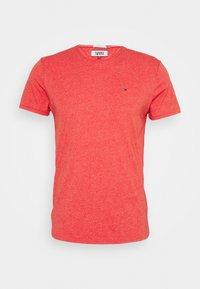 Tommy Jeans - ESSENTIAL JASPE TEE - Basic T-shirt - deep crimson - 3