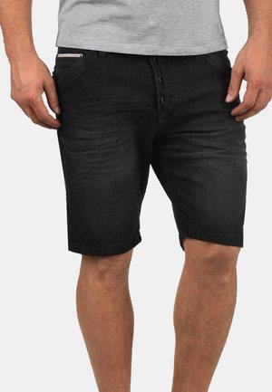 ALESSIO - Szorty jeansowe - black