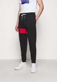 Polo Ralph Lauren - DOUBLE TECH - Pantaloni sportivi - black - 0