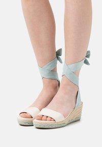 mtng - AUSTEN - Platform sandals - menta - 0