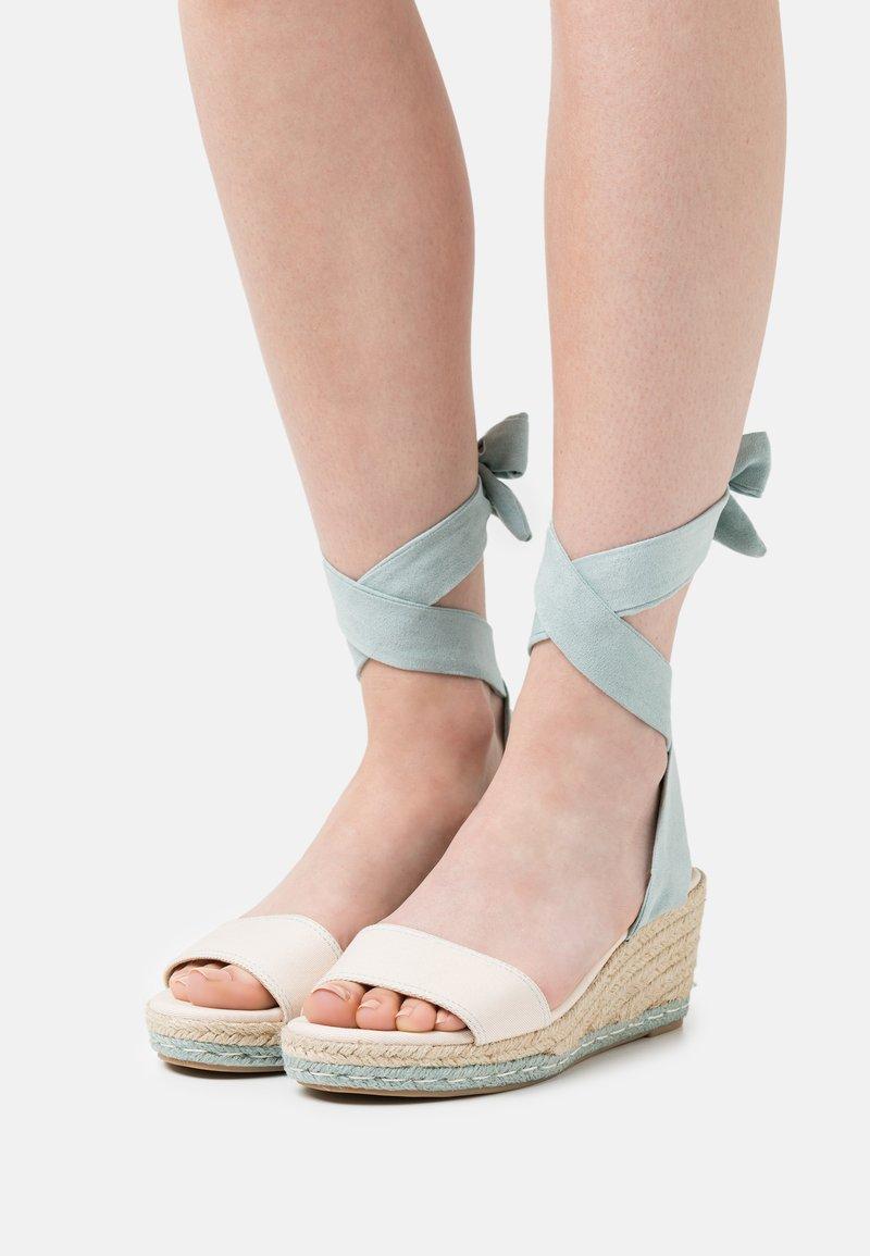 mtng - AUSTEN - Platform sandals - menta
