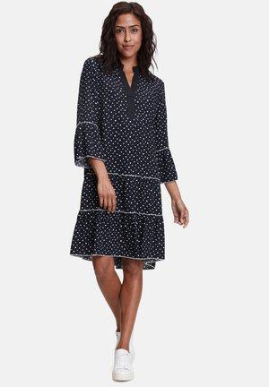 Day dress - dunkelblau weiß