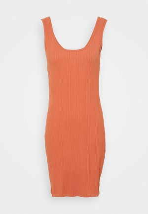 JDYMARNI LIFE TANK DRESS  - Shift dress - red