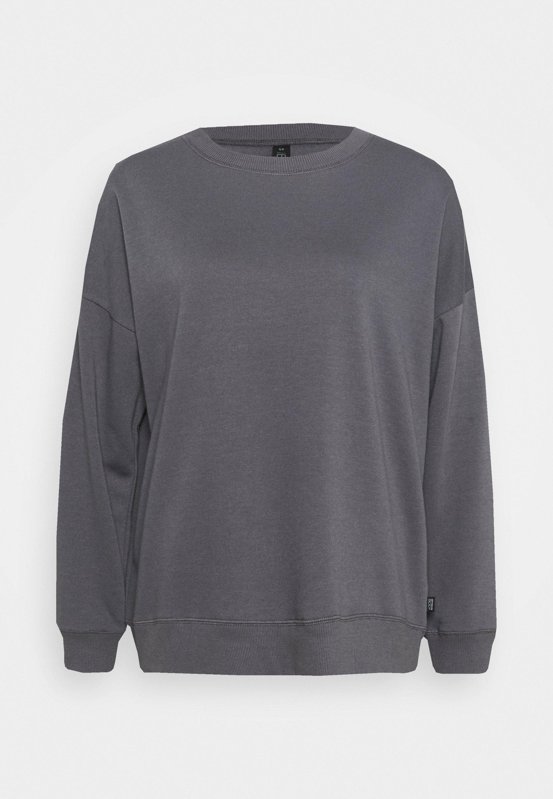 Women LONG SLEEVE CREW - Sweatshirt