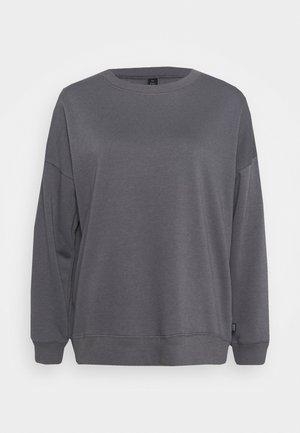 LONG SLEEVE CREW - Sweatshirt - pewter grey