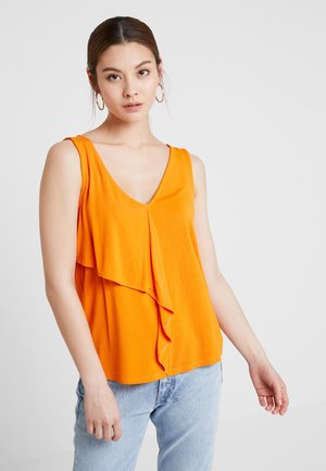 Topper - russet orange
