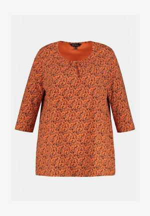 Long sleeved top - mandarine