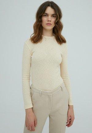 AZALEA - Long sleeved top - beige