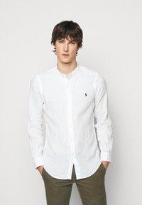 Polo Ralph Lauren - PIECE DYE - Shirt - white - 0