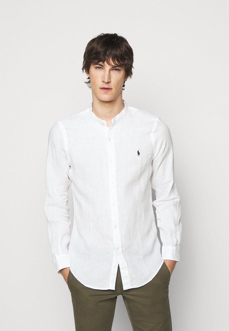 Polo Ralph Lauren - PIECE DYE - Shirt - white
