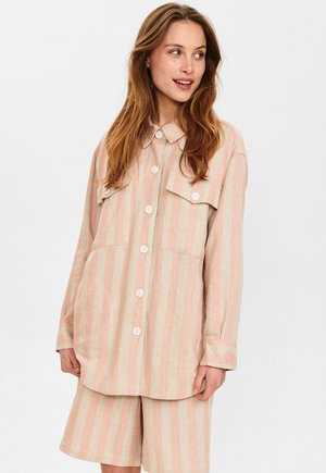 Button-down blouse - brazillian sand