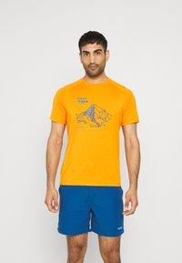 Mammut - MOUNTAIN MEN - Print T-shirt - dark radiant - 0