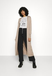 ONLY - ONLCECILIA LONG CARDIGAN - Cardigan - sand - 1