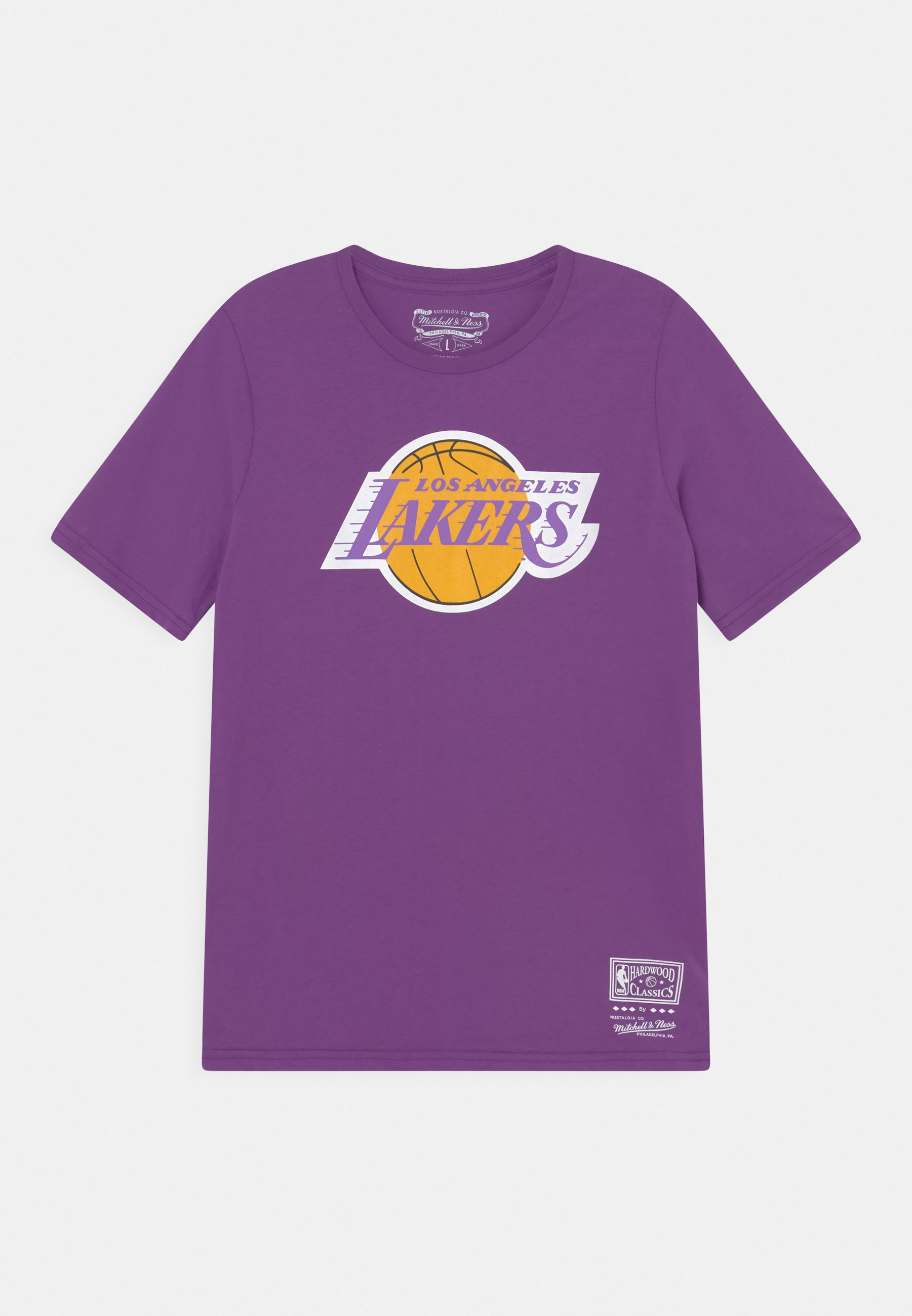Kids NBA LA LAKERS RETRO LOGO TEE UNISEX - Club wear