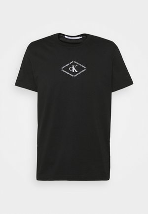 MONOTRIANGLE TEE - Print T-shirt - black