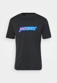 ONSPANCE LIFE TEE - Print T-shirt - dark navy