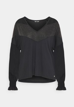 ALNOR - Long sleeved top - black