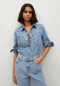 Mango - ANTONELA - Relaxed fit jeans - medium blue - 3