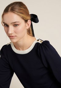 Luisa Spagnoli - Jumper dress - blu/panna - 2