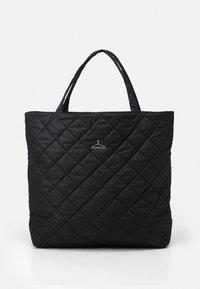 HANGER TOTE BIG UNISEX - Bolso shopping - black
