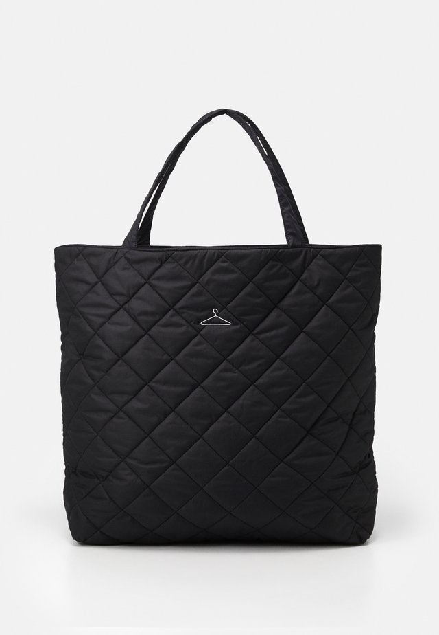 HANGER TOTE BIG UNISEX - Shoppingveske - black
