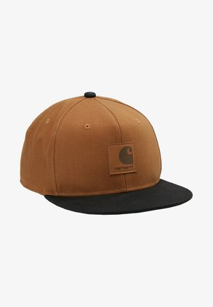 LOGO BICOLORED - Cap - hamilton brown/black