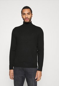 Hollister Co. - TURTLENECK - Pullover - black - 0
