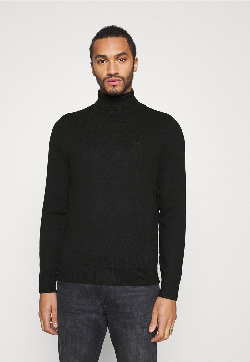 Hollister Co. - TURTLENECK - Pullover - black