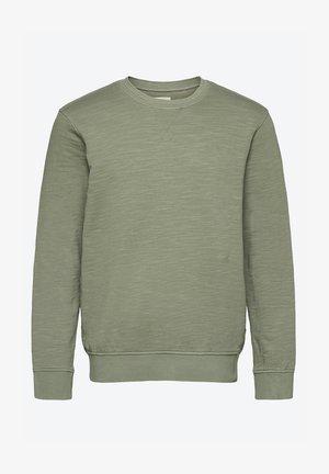 Sweater - mottled light green