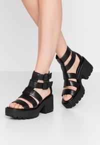 Vagabond - DIOON - Platform sandals - black - 0