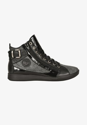 PALME C SNEAKER - High-top trainers - black