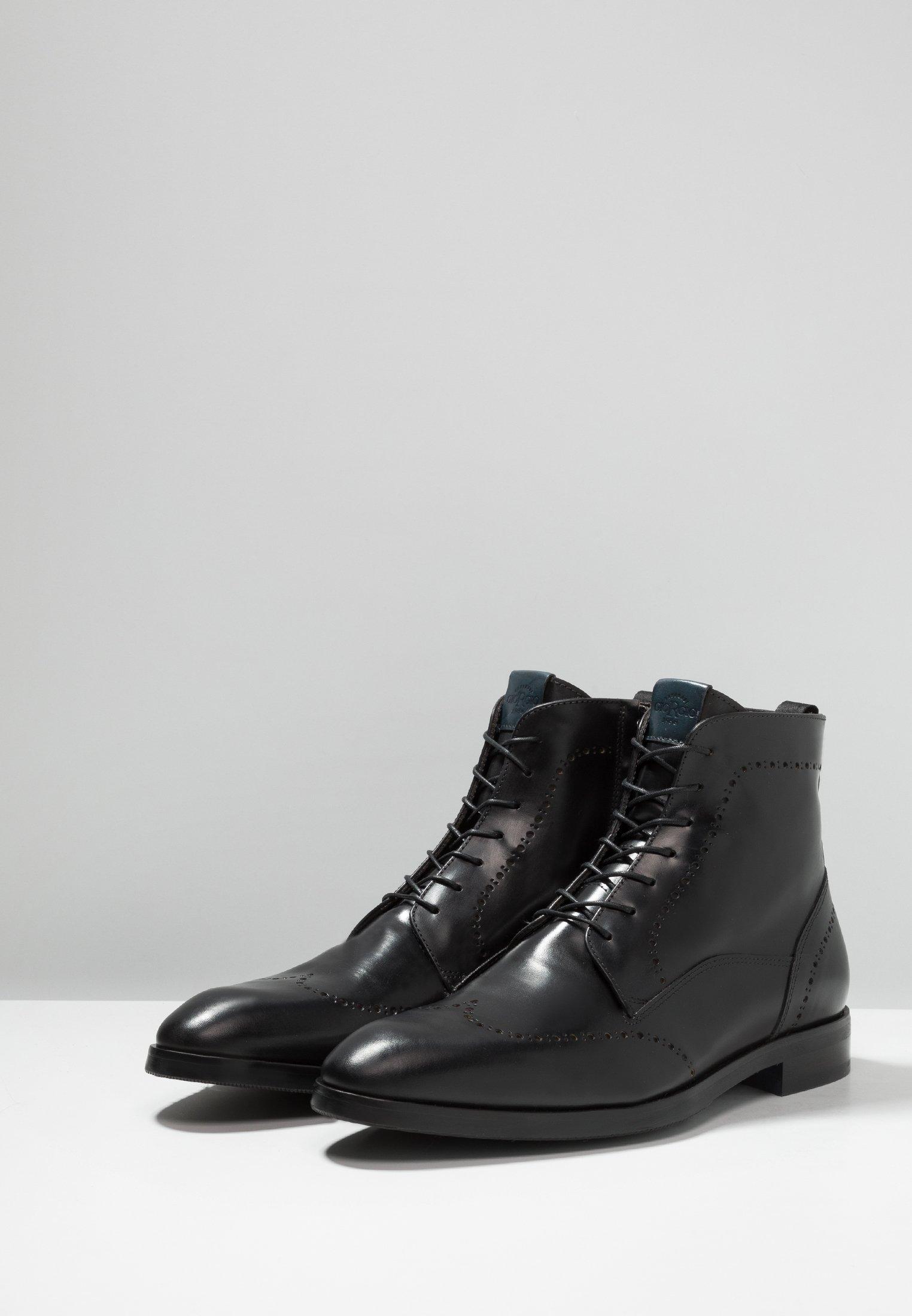 2013 Cheapest Giorgio 1958 Lace-up ankle boots - black   men's shoes 2020 FXrKx