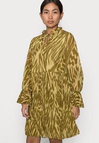 Object Petite - OBJZANIA  DRESS - Day dress - khaki - 3