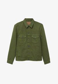 Mango - Denim jacket - khaki - 6
