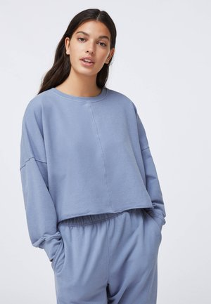 CROPPED - Sweatshirt - light blue