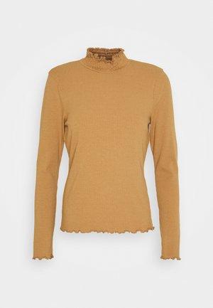 VMGLADYS HIGHNECK  - Long sleeved top - tobacco brown