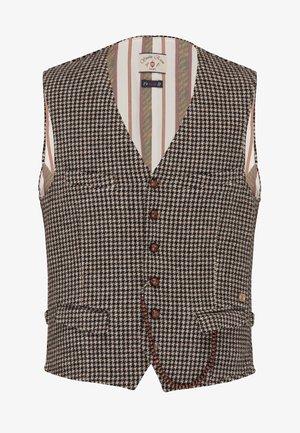 Suit waistcoat - braun